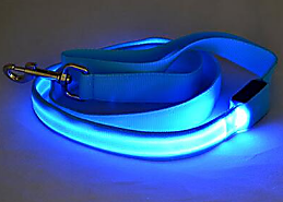 Night Safety LED Dog Leash (USB Rechargeable)