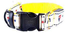 LED Dog Collar With Cute Sailor Pattern