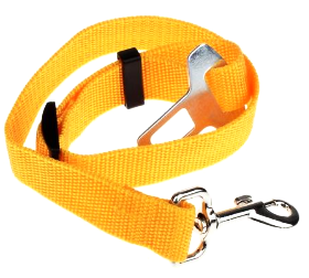 Yellow Dog Seat Belt