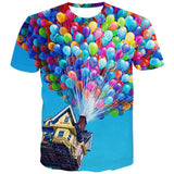 Printed High Impact Image Unisex 3-D T-Shirts Collection - [product_collection]
