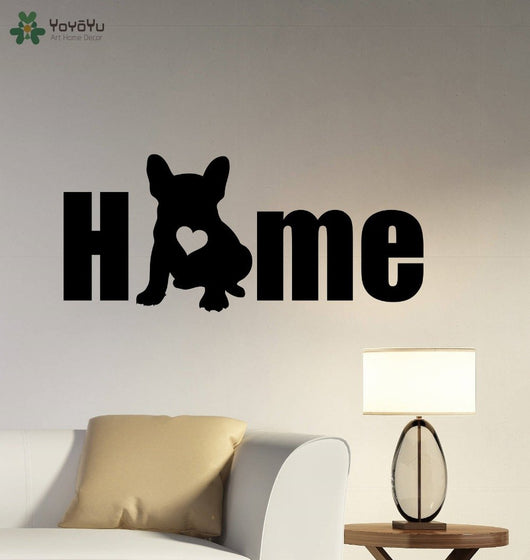 French Bulldog Vinyl Wall Sticker - [product_collection]