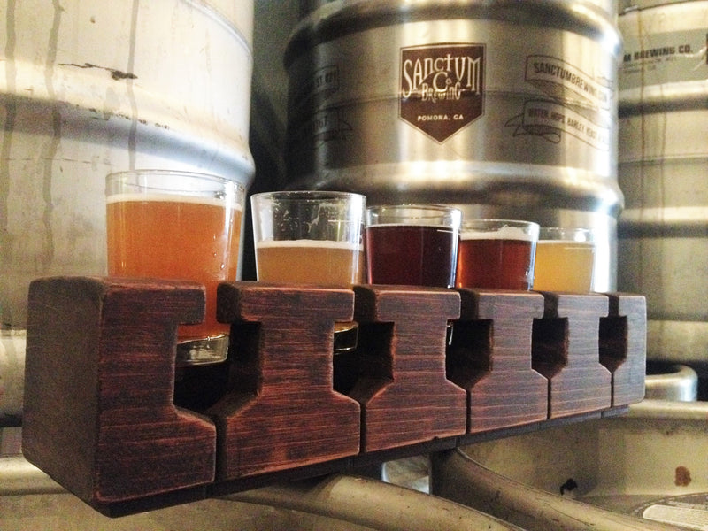 Beer Flight Vessels