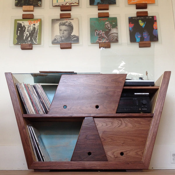 Record Player Console: Sold at Debut