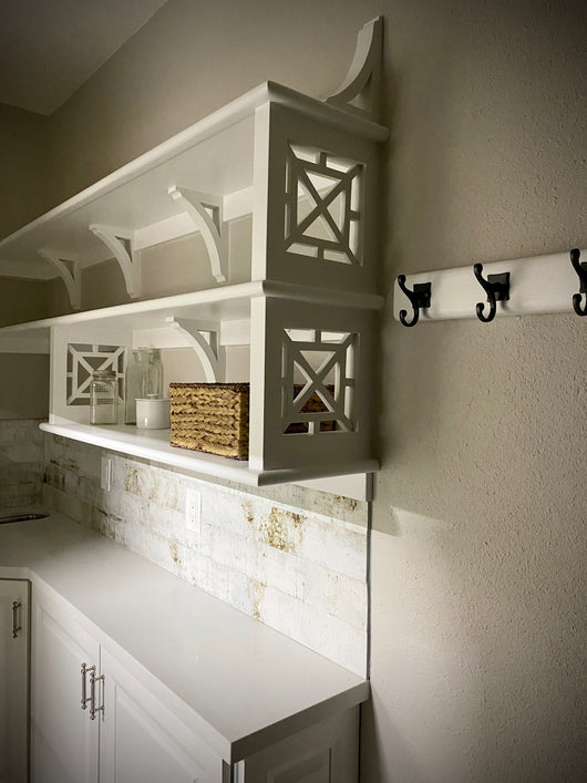 French Country Walk-thru Pantry