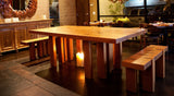 Cherry Tree Forest Table + Benches