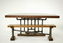 Steam Tavern Table + Bench
