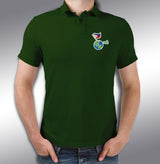 FEED INC. Eco Warrior Polo Shirt