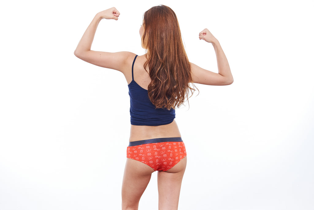 Fitness Junkie Women's Cheekies
