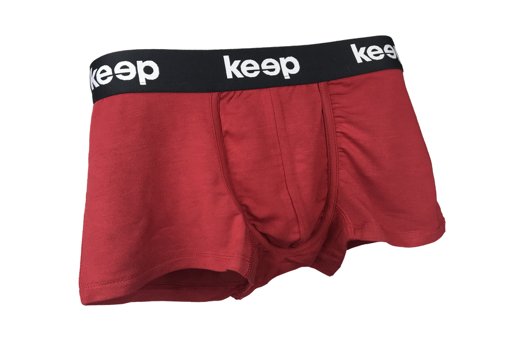 Burgundy Red Men's Trunk (Ag+)