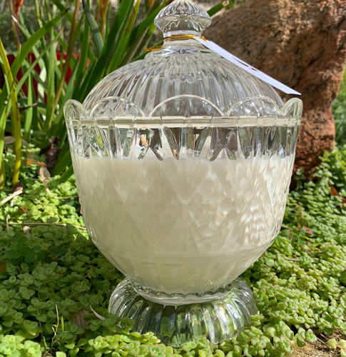 HARROD CRYSTAL JAR