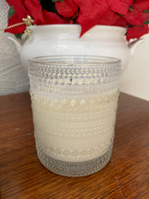Embossed Bubble Jar
