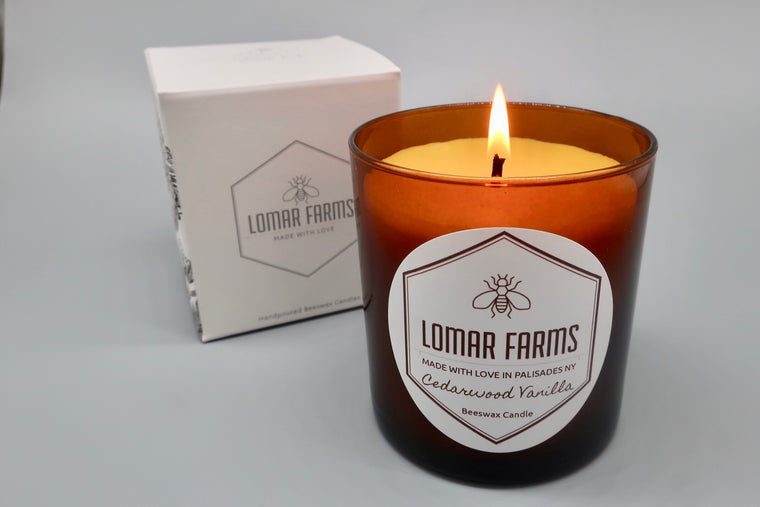 Cedarwood Vanilla Scented Candle
