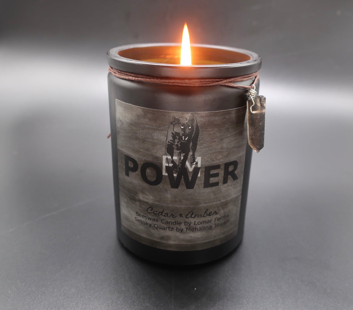 EMPOWER Beeswax Candle