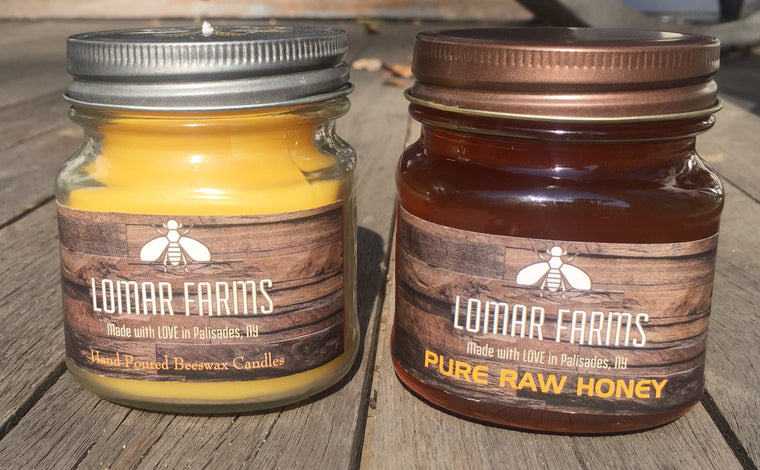Double Dose- Candle and Honey