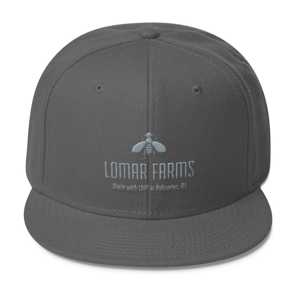 LoMar Farms Wool Blend Snapback