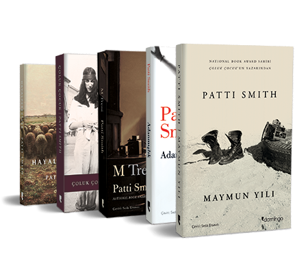 Patti Smith Seti (5 Kitap)
