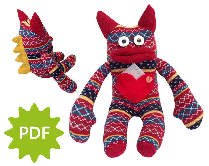 Love Sock Monster, digital download