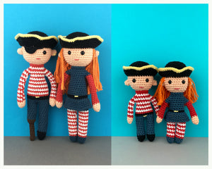 Pirate Family Pattern Bundle