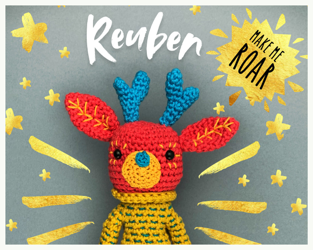 Reuben Reindeer - Winning Pattern on Kirstie's Handmade Christmas