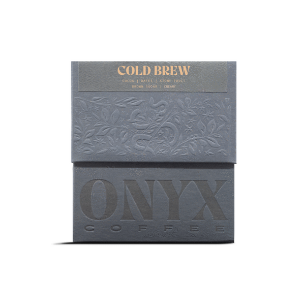 ONYX COLD BREW - Shot