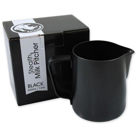 Rhinowares Stealth Milk Pitcher - Shot