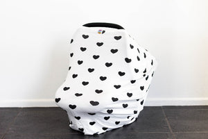 Hearts - 5in1 Multi Cover | Capsule Cover + FREE Drawstring Bag
