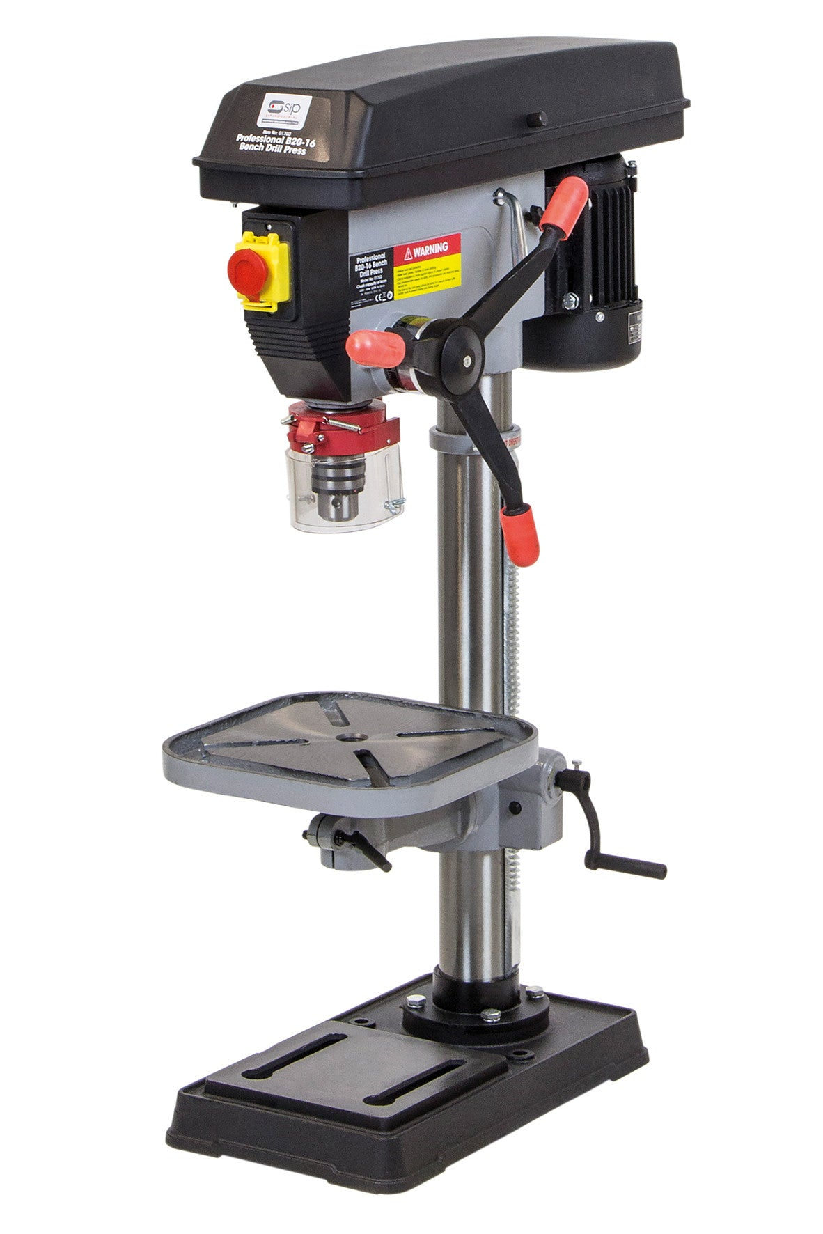 SIP 20mm B20-16 Bench Mounted Pillar Drill (550w)