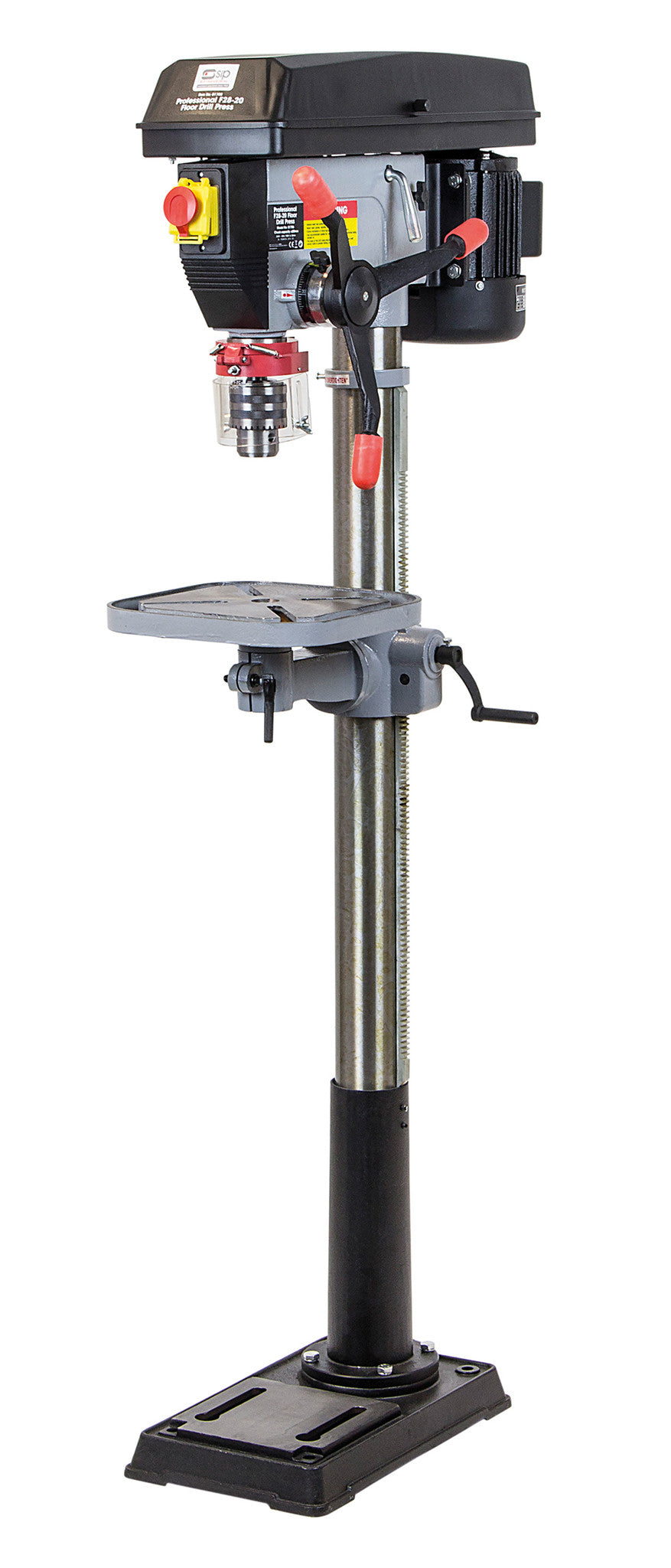 SIP 28mm F28-20 Floor Standing Pillar Drill (750w)