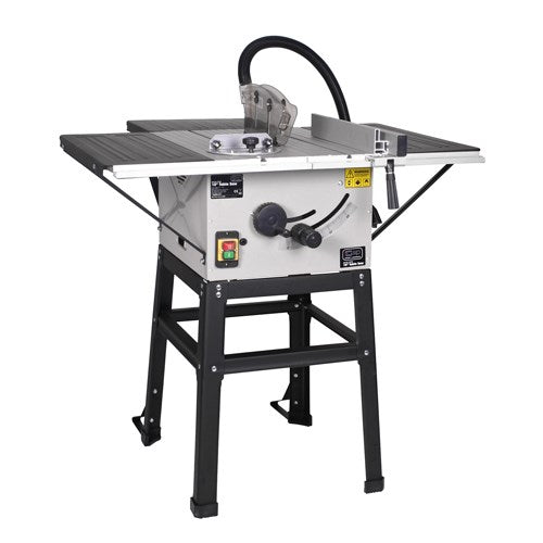 SIP 10'' Wood Cutting Table Saw with Stand (2.4HP)