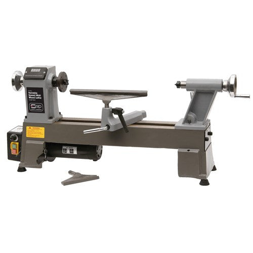 SIP 12 x 17'' Variable Speed Cast Iron Midi Wood Lathe