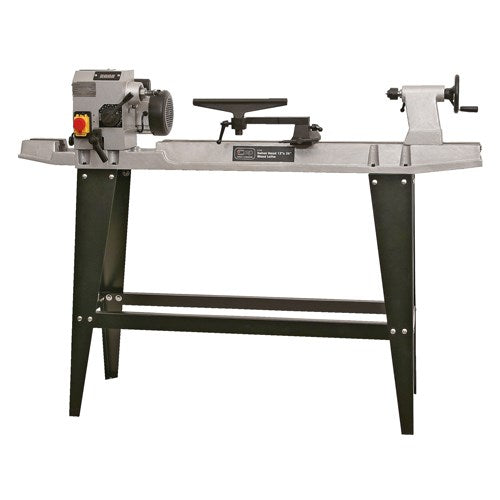 SIP 12 x 36'' Swivel Head Cast Iron Wood Lathe (550w)