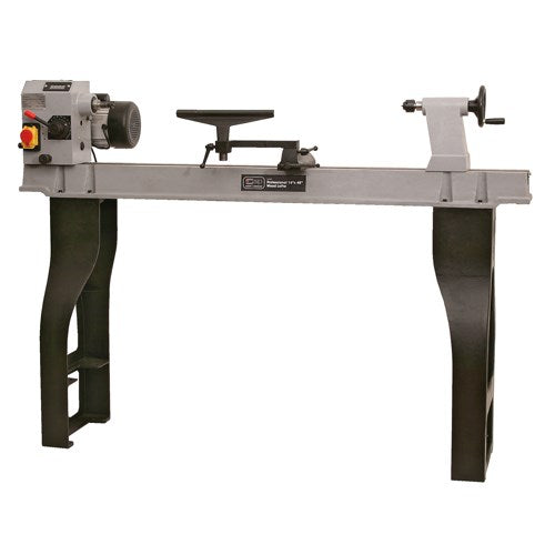 SIP 14 x 43'' Variable Speed Cast Iron Wood Lathe (1HP)