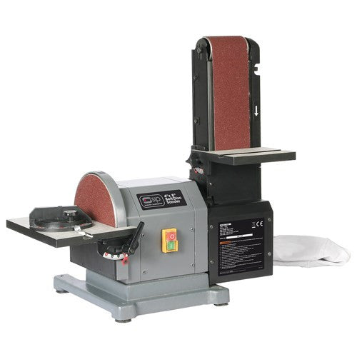 SIP 8 x 4'' Belt & Disc Sander (500w)