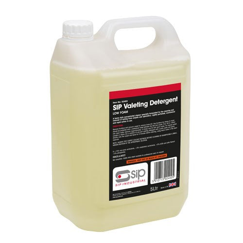 SIP 5 Litre Low Foam Valeting Detergent