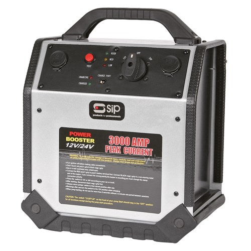 SIP 12 & 24v Rescue Pack 3000amp Booster