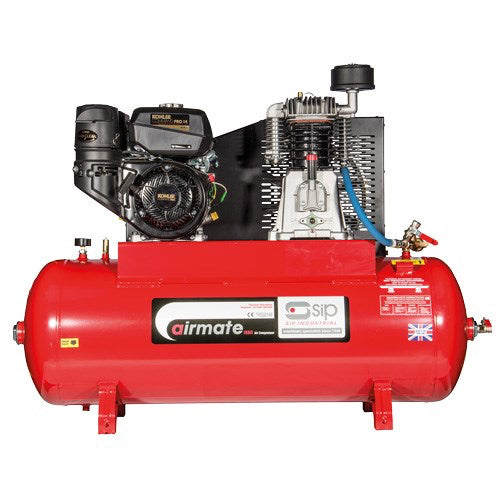 SIP 200L Kohler 14HP Petrol Air Compressor (35 CFM) E/Start
