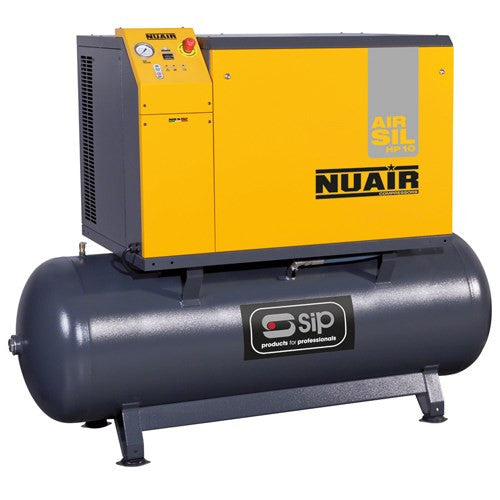 SIP 500 Ltr NB10/500 Silenced Air Compressor (400v) (44CFM)