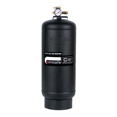 SIP 24 Litre Vertical Air Receiver Tank (116psi)