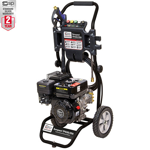 SIP 7HP Tempest TP550/206 Petrol Power Washer (3000psi)
