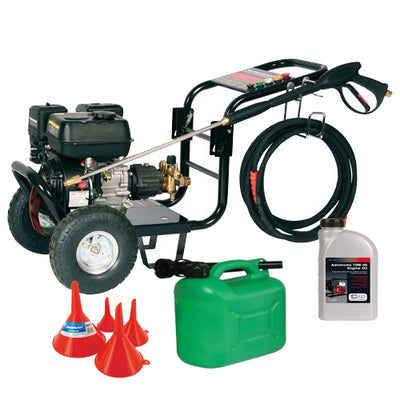 SIP TP650/175 Petrol Power Washer (2540psi) Package Deal