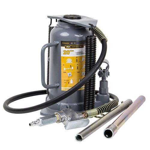 Winntec 20 Ton Professional Air Bottle Jack (245 - 470mm)
