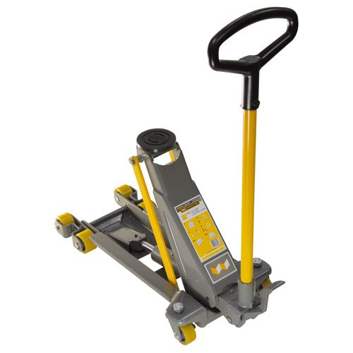 Winntec 2 Ton Professional Low-Profile Trolley Jack (490mm)