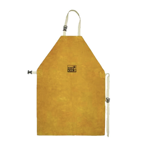 SWP Kevlar Stitched Gold Welders Apron (24 x 36'')