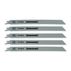 Silverline 240mm HCS 5TPI Recip Saw Blades for Wood (5pk)