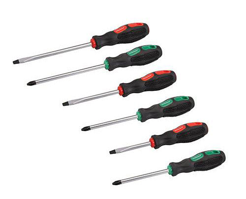 Silverline 6pc General Purpose Screwdriver Set