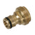 1/2'' Internal Male Adaptor Brass (3/4'' BSP)