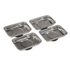 Silverline 4pc Magnetic Tray Set