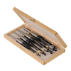 Silverline 4pc Mortice Chisel Set (6, 10, 13 & 16mm)