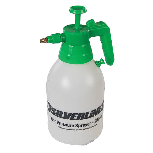 Silverline 2 Litre Pump Action Pressure Sprayer