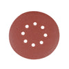 150mm Hook & Loop Punched 40 Grit Discs (10pk)